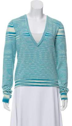Michael Kors Cashmere Knit Sweater Aqua Cashmere Knit Sweater