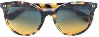 Gucci tortoiseshell cat-eye sunglasses