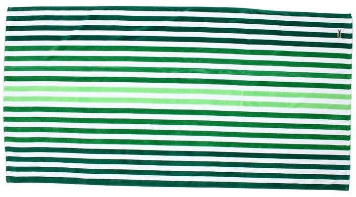 Lacoste Vertical Stripe Beach Towel