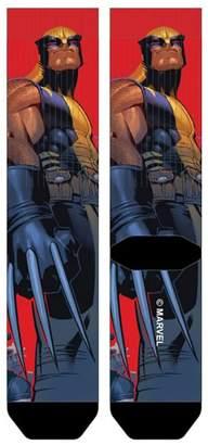 Wolverine X Men X-Men Sublimated Crew Socks