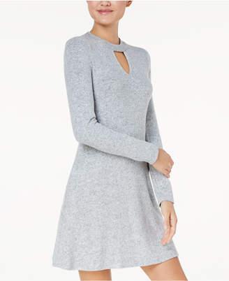 BCX Juniors' Choker Sweater Dress