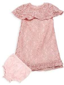 Baby Girl's Two-Piece Dress and Bloomer Set