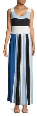 Context Colorblocked Maxi Dress