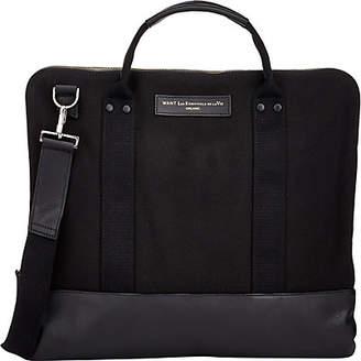 WANT Les Essentiels Men's Heathrow Commuter Bag - Black
