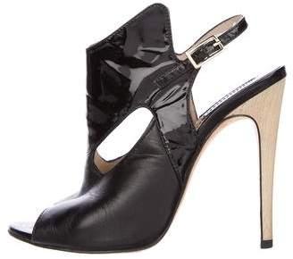 Camilla Skovgaard Leather Slingback Booties