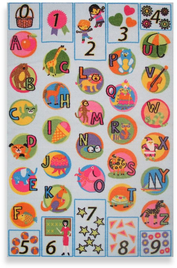 """Fun Rugs® """"I Know My ABCs"""" Accent Rug"""