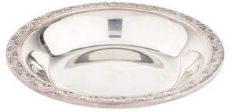 Reed & Barton Silverplate Classic Rose Bon Bon Bowl