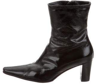 Aquatalia Pointed-Toe Ankle Boots