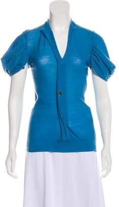 Junya Watanabe Knit Short Sleeve Top