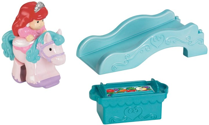 Fisher-Price Little People Ariel with Pink Horse