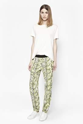 French Connection Soho Boa Drape Trousers
