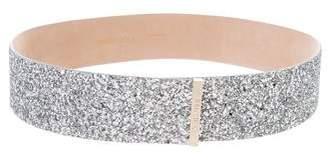 Jimmy Choo Glitter Waist Belt w/ Tags