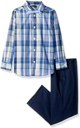 Nautica Little Boys' Three Piece Dresswear Set with Shirt, Pant and Bowtie