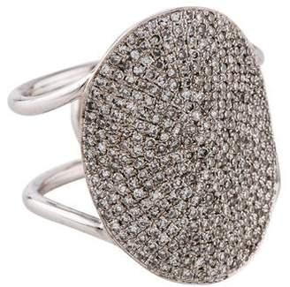 Ef Collection 14K Diamond Jumbo Oval Ring