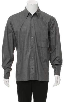 Dolce & Gabbana Woven Button-Up Shirt