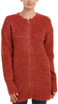MinkPink Rib-Knit Cardigan