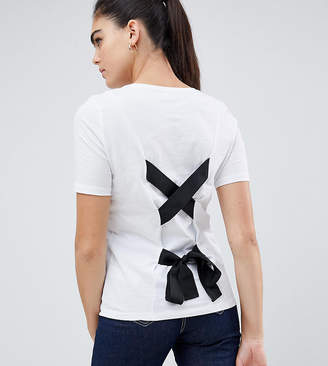 Noisy May Tall Tie Back T-Shirt