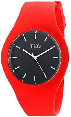 TKO ORLOGI ' Candy II' Quartz Metal and Rubber Casual Watch