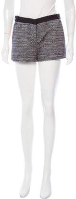 Victoria Beckham Tweed Mini Shorts