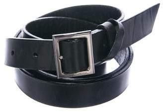 Dolce & Gabbana Leather Wrap-Around Belt