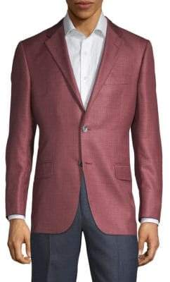Hickey Freeman Milburn II Regular-Fit Silk & Cashmere Sportcoat