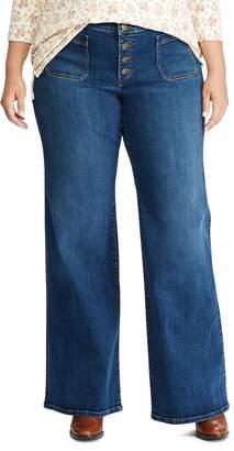 Chaps Plus Straight-Fit Jeans