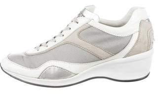 Tod's Low-Top Wedge Sneakers
