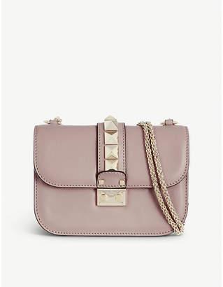 676b5affb5b1 Valentino Stud lock small shoulder bag