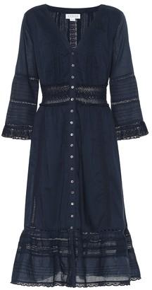 Velvet Angi cotton midi dress