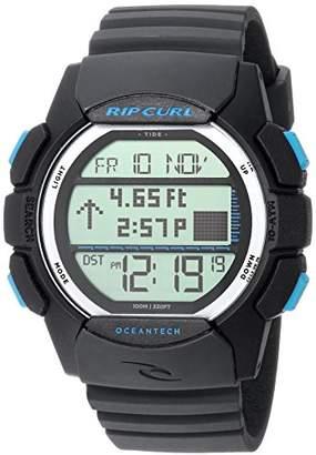 Rip Curl Men's Quartz Plastic and Polyurethane Sport Watch