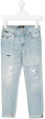 Ralph Lauren distressed jeans