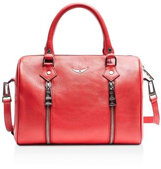 Zadig & Voltaire Sunny Small Leather Satchel