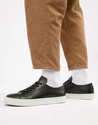 Wood Wood Alex Sneaker In Black