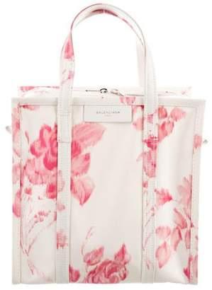 Balenciaga Bazar Shopper Small AJ Floral-Print Tote