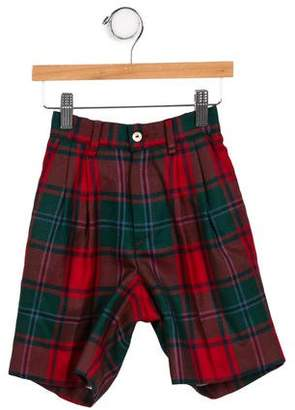 Papo d'Anjo Girls' Plaid Lightweight Bottoms w/ Tags