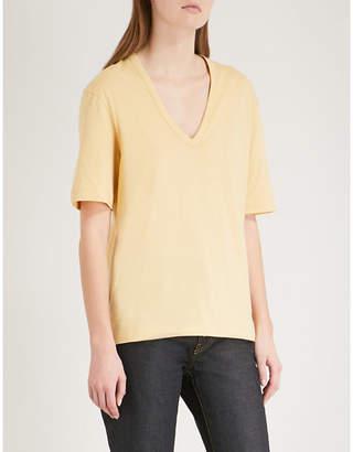 Joseph Deep V-neck cotton-jersey T-shirt