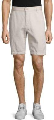 7 For All Mankind Cotton-Linen Chino Shorts