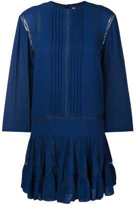 Chloé lace insert dress