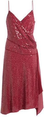 Diane von Furstenberg Sequined Silk Dress