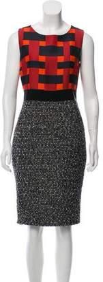 Giambattista Valli Sleeveless Contrasted Dress