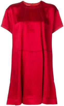 Valentino round neck shift dress