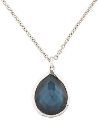 Ippolita Mother of Pearl & Quartz Teardrop Rock Candy Pendant Necklace