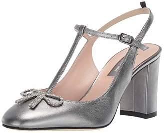 Sarah Jessica Parker Women's Relic T-Strap Slingback Black Heel (9 US)