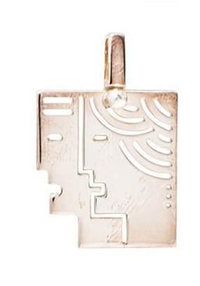 Bulgari Enigma by Gianni Cutout Pendant silver Enigma by Gianni Cutout Pendant