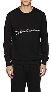 Blood Brother MEN'S RUSH COTTON SWEATSHIRT-BLACK SIZE XS