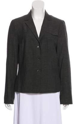 Akris Punto Wool Structured Blazer