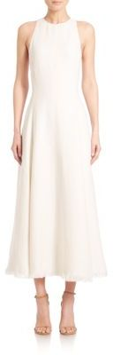 Ralph Lauren Collection Rosalyn Sleeveless Linen Midi Dress $2,790 thestylecure.com