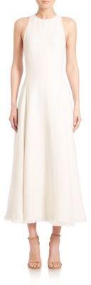 Ralph Lauren Collection Rosalyn Sleeveless Linen Midi Dress $2,790 thestylecure.com