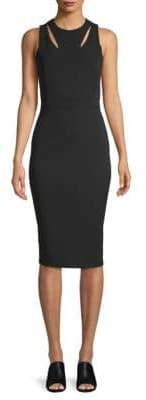 Victoria Beckham Cut-Out Sleeveless Dress