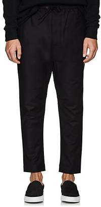 Chapter MEN'S STRETCH-COTTON DRAWSTRING TROUSERS - BLACK SIZE 36